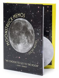 Moonstruck Memos sticky note book
