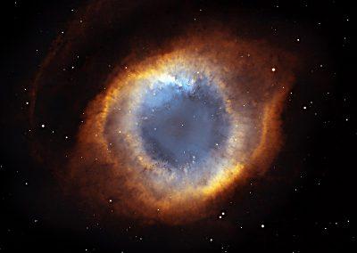 The Helix Nebula is a planetary nebulae