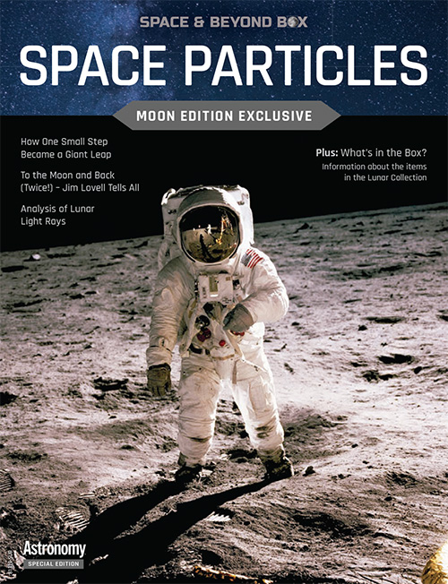 Space Particles book cover