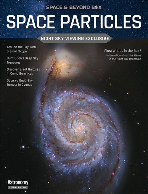 Space Particles: Night Sky Viewing booklet cover