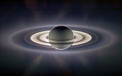 How were Saturn's rings formed?