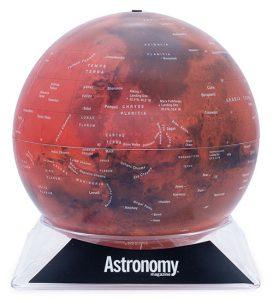 Astronomy Mars Globe