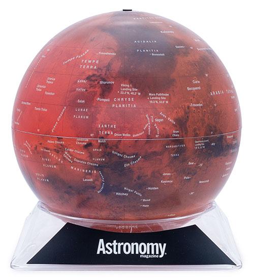 The Mars Globe