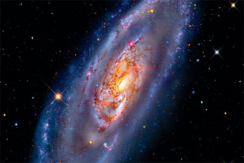 Galaxy M106 post card