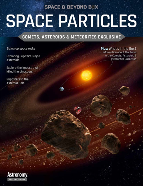 Space Particles: Comets & Asteroids Edition
