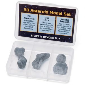 3D Asteroid Model Set