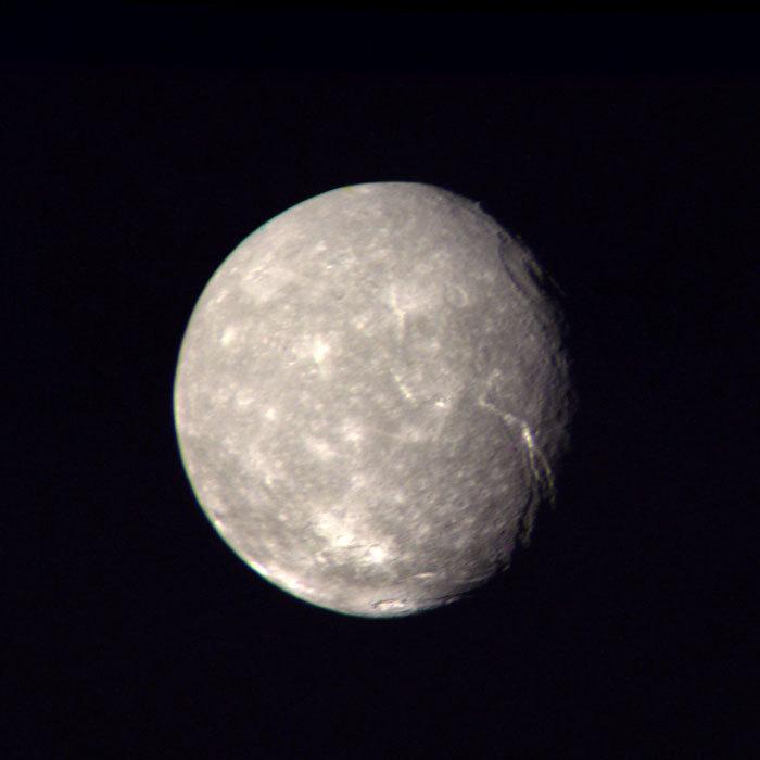 Uranus' largest moon, Titania
