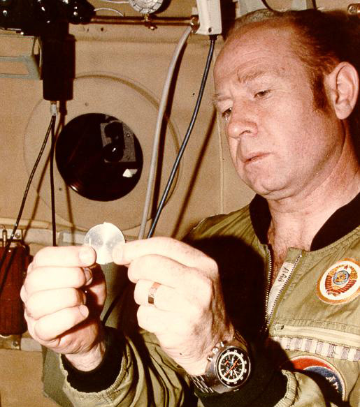 Cosmonaut Alexei Leonov