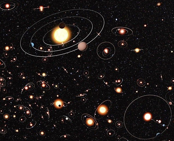 Planets in the Milky Way