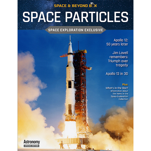 the cover shows the Apollo 12 rocket launching