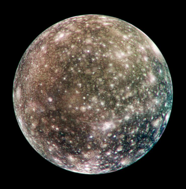 The moon Callisto
