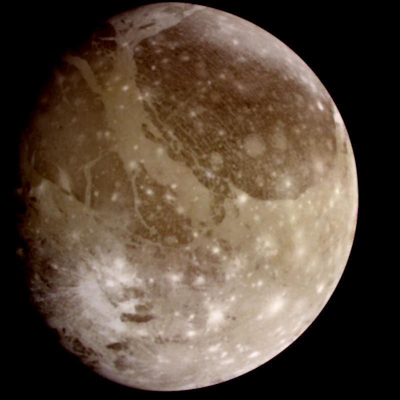 The moon Ganymede